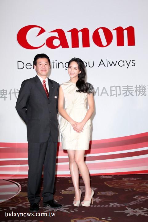 气质才女张钧甯获 Canon 钦点抢下重量代言