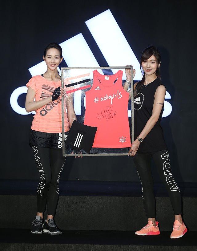 adidas 代言人张钧甯 强势引领全新运动潮流